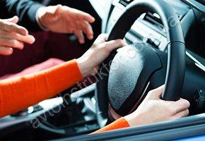 Уроки вождения машины